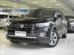 Volkswagen T-cross 1.0 200 TSI Comfortline Preto 2020