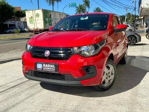 Fiat Mobi 1.0 Like ON Vermelho 2017