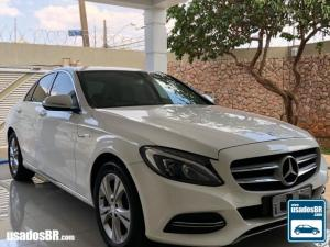 MERCEDES-BENZ C 180 1.6 CGI EXCLUSIVE TURBO Branco 2015