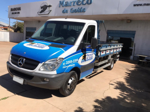 MERCEDES-BENZ SPRINTER 2.2 515 CHASSI Branco 2014
