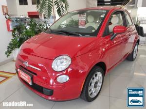 FIAT 500 1.4 CULT 8V Vermelho 2014