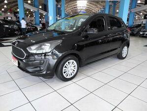 Ford KA 1.0 SE Plus 12V Preto 2020