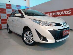 Toyota Yaris 1.5 XL Plus Tech Multidrive Branco 2019