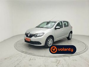 Renault Sandero 1.0 Expression Prata 2020