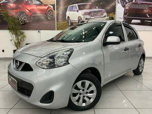 Nissan March 1.0 S Prata 2018