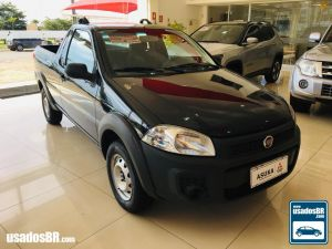 FIAT STRADA CS 1.4 WORKING Azul 2016