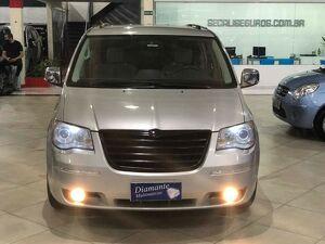 Chrysler Town & Country 3.8 Limited V6 Prata 2008