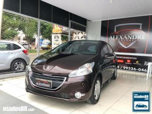 PEUGEOT 208 1.5 ACTIVE PACK Marrom 2014