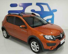 Renault Sandero 1.6 Stepway Laranja 2015