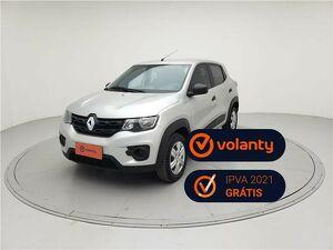 Renault Kwid 1.0 Life Prata 2020