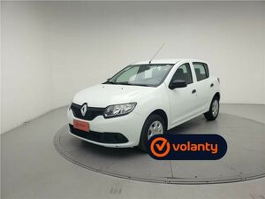 Renault Sandero 1.0 Authentique Branco 2019
