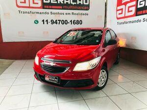 Chevrolet Onix 1.0 LS 8V Vermelho 2015