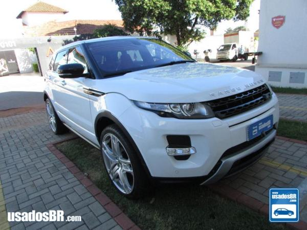 Foto do veiculo LAND ROVER RANGE ROVER EVOQUE 2.0 DYNAMIC TECH Branco 2013