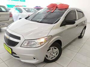 Chevrolet Onix 1.0 LS 8V Prata 2015