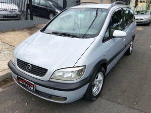 Chevrolet Zafira 2.0 CD 8V Prata 2003