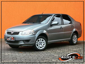 Fiat Siena 1.4 EL 8V Cinza 2014