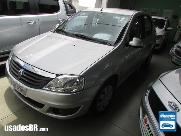 Foto do veiculo RENAULT LOGAN 1.0 EXPRESSION Prata 2013