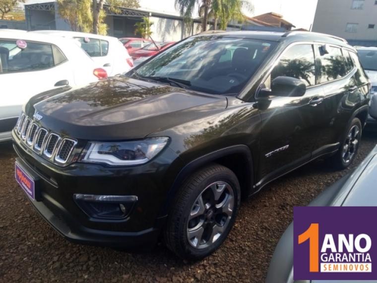 Jeep Compass 2 0 Longitude Verde 2019 2019 Ribeirao Preto