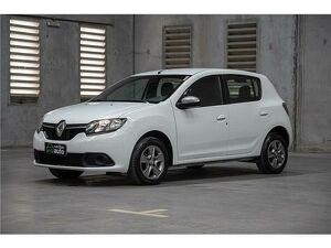 Renault Sandero 1.0 Vibe Branco 2018
