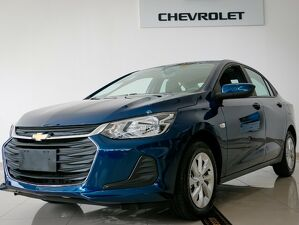 Chevrolet Onix 1.0 Turbo Plus LT Azul 2022