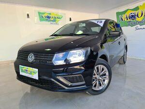 Volkswagen Voyage 1.6 S Preto 2019