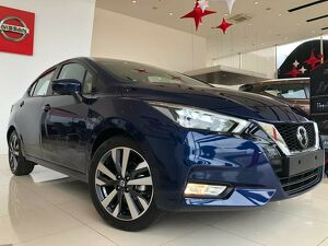 Nissan Versa 1.6 16V Exclusive Azul 2021