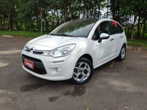 CITROËN C3 1.6 EXCLUSIVE Branco 2015