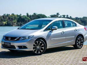Honda Civic 2.0 LXR Prata 2016