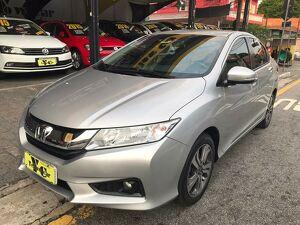Honda City 1.5 EXL Prata 2021