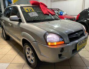 Hyundai Tucson 2.0 GLS Prata 2012