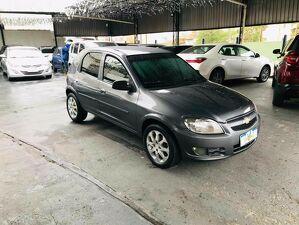 Chevrolet Celta 1.0 LT 8V Cinza 2012