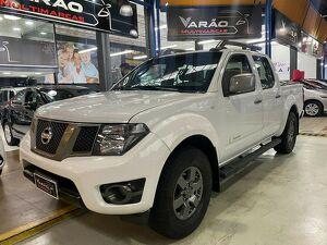 Nissan Frontier 2.5 SV Attack Branco 2015