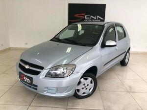 Chevrolet Celta 1.0 8V Prata 2012