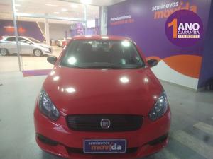 Fiat Grand Siena 1.4 8V Vermelho 2021