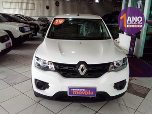 Renault Kwid 1.0 ZEN Branco 2020