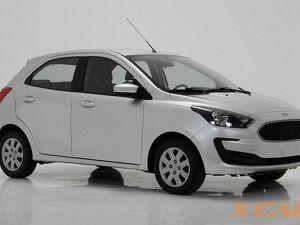 Ford KA 1.0 SE 12V Prata 2020