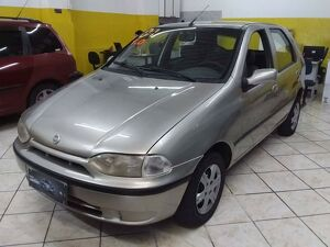 Fiat Palio 1.0 Young 8V Bege 2001