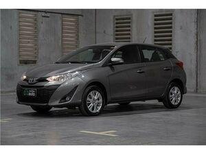 Toyota Yaris 1.3 XL 16V Cinza 2019