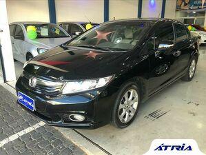Honda Civic 2.0 EXR Preto 2014