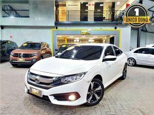 Honda Civic 2.0 EXL Branco 2017