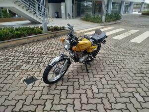 Honda CG 125 125cc Amarelo 1982