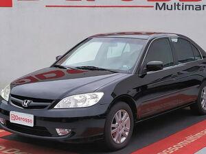 Honda Civic 1.8 LXL Preto 2006