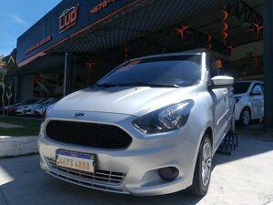 Ford KA 1.0 Tivct SEL 12V Prata 2018