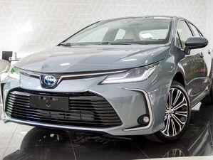 Toyota Corolla 1.8 Altis Premium Hybrid Cinza 2021