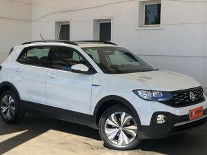 Volkswagen T-cross 1.0 200 TSI Comfortline Branco 2020