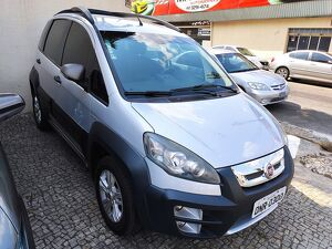 FIAT IDEA 1.8 ADVENTURE 8V Prata 2013