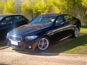BMW 528i 2.0 M SPORT Preto 2016