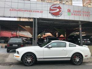 Ford Mustang 4.0 Deluxe V6 Branco 2008