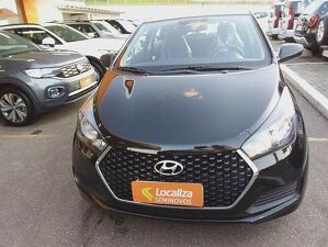 HYUNDAI HB20 1.0 UNIQUE 12V Preto 2019