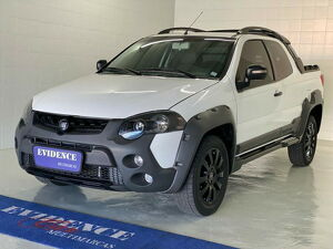 Fiat Strada CD 1.8 Adventure Branco 2016